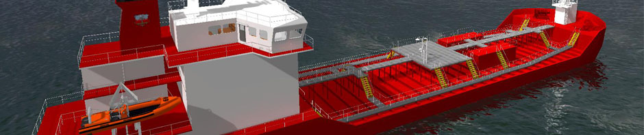 Virtual 3D Ship
