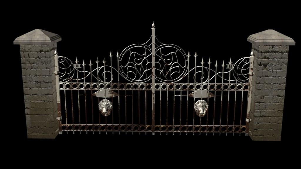 Manision Gate Lukket