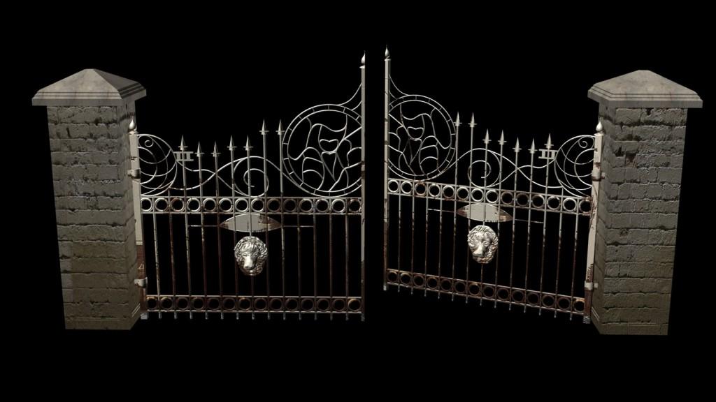 Mansion Gate Åben