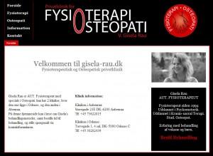 Screenshot af gisela-rau.dk