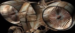 """Denne Jet Racer er resultatet af et fritidsprojekt. Sener hen er denne model anvendt i animationsfilmen """"Wittrup – Guardian of Earth"""", som kan ses under videodelen her."""