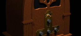 Dette er en radio i retrostil, som jeg har animeret for at forbedre mine færdigheder.