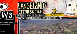 Som en del af mit arbejde hos Marginal Reklamebureau A/S, har jeg været del af et team i udviklingen af Langelands Efterskoles nye hjemmeside.