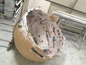 Paper-mâché mold 01